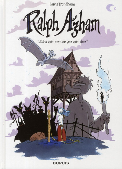 Couverture Ralph Azham tome 1