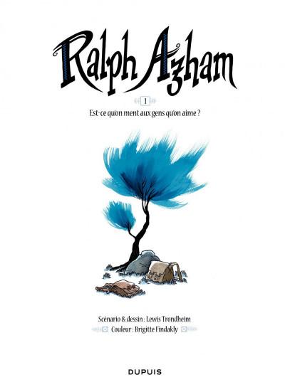Page 1 Ralph Azham tome 1