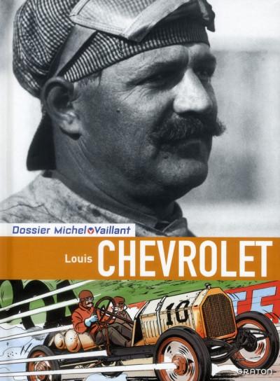 Couverture Dossiers Michel Vaillant tome 11 - Louis Chevrolet