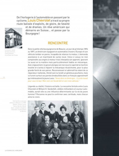 Page 1 Dossiers Michel Vaillant tome 11 - Louis Chevrolet