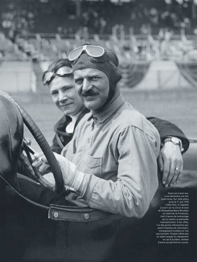 Page 2 Dossiers Michel Vaillant tome 11 - Louis Chevrolet