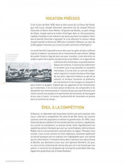 Page 3 Dossiers Michel Vaillant tome 11 - Louis Chevrolet