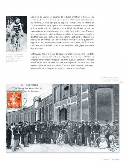 Page 4 Dossiers Michel Vaillant tome 11 - Louis Chevrolet