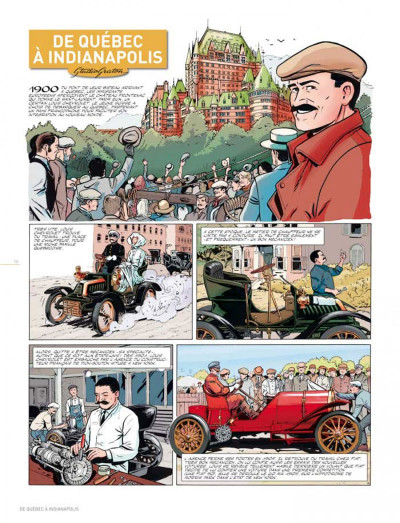 Page 5 Dossiers Michel Vaillant tome 11 - Louis Chevrolet