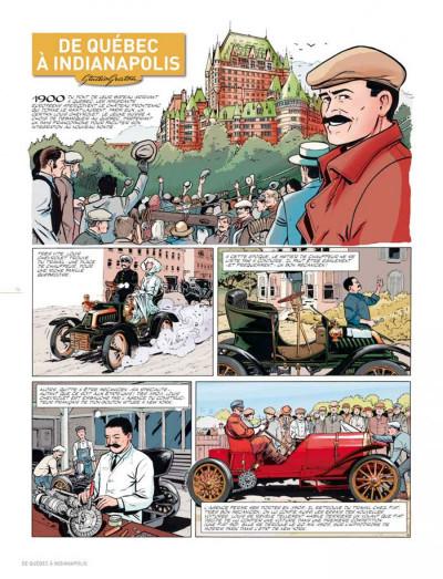Page 5 dossiers Michel Vaillant T.11 - Louis Chevrolet