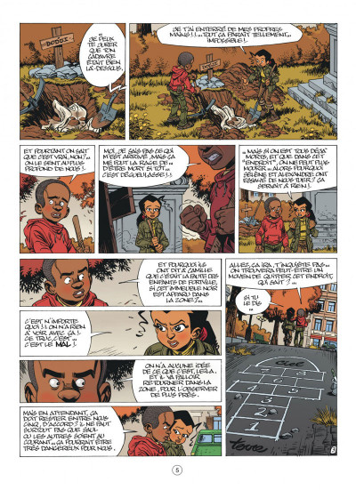 Page 5 Seuls tome 6