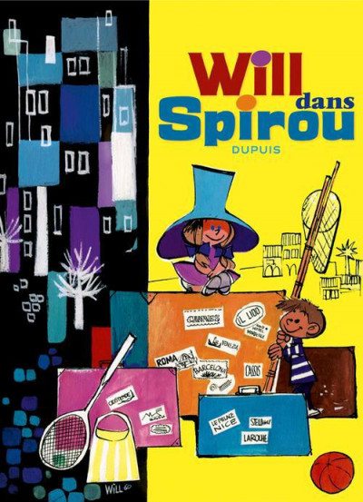 Couverture Will dans Spirou ; 1967-1997