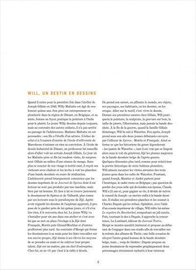 Page 5 Will dans Spirou ; 1967-1997