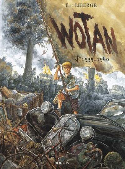 Couverture Wotan tome 1 - 1939-1940