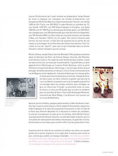 Page 3 Dossiers Michel Vaillant tome 5 - Coluche, c'est l'exploit d'un mec...