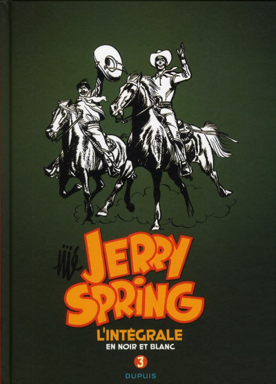 Couverture Jerry Spring - intégrale tome 3 (1958-1962)