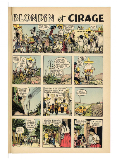 Page 7 Jerry Spring - intégrale tome 3 (1958-1962)