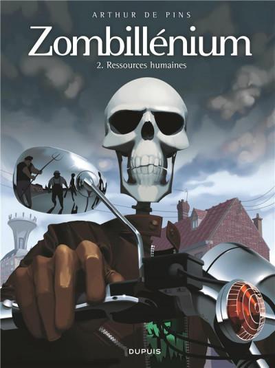 Couverture zombillénium tome 2 - ressources humaines