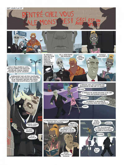 Page 6 zombillénium tome 2 - ressources humaines