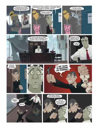 Page 7 zombillénium tome 2 - ressources humaines