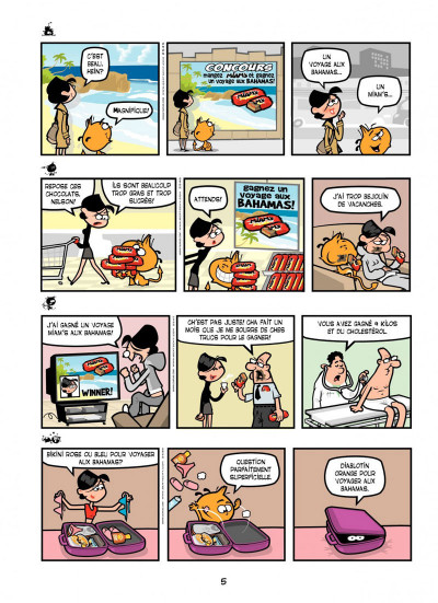 Page 5 Nelson T.11 - fléau sans frontière