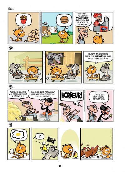 Page 8 Nelson T.11 - fléau sans frontière