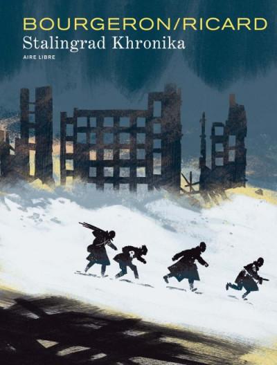 Couverture Stalingrad Khronika tome 1 - édition signée à 777 exemplaires