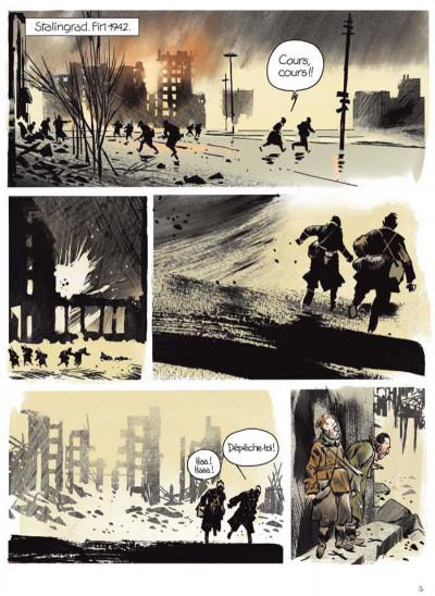 Page 1 Stalingrad Khronika tome 1 - édition signée à 777 exemplaires