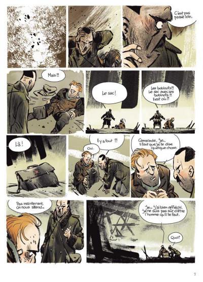 Page 3 Stalingrad Khronika tome 1 - édition signée à 777 exemplaires