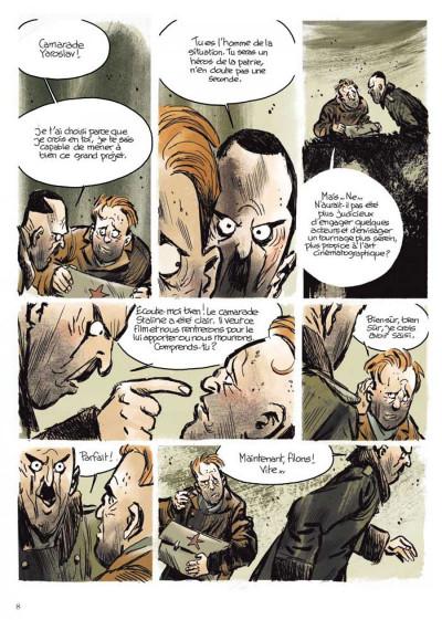 Page 4 Stalingrad Khronika tome 1 - édition signée à 777 exemplaires