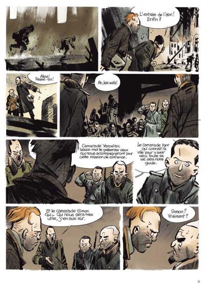 Page 5 Stalingrad Khronika tome 1 - édition signée à 777 exemplaires