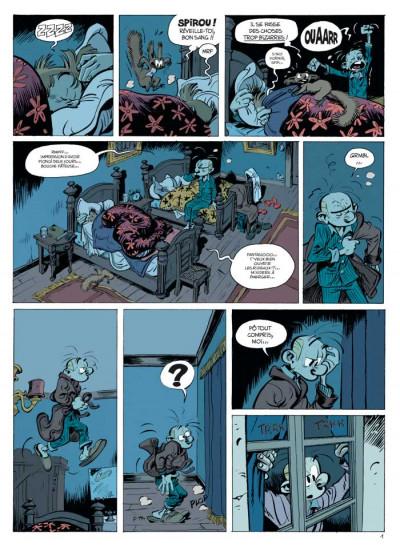 Page 1 Spirou et Fantasio tome 52 - la face cachée du Z