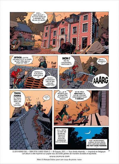 Page 2 Spirou et Fantasio tome 52 - la face cachée du Z