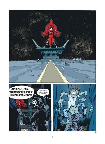 Page 4 Spirou et Fantasio tome 52 - la face cachée du Z