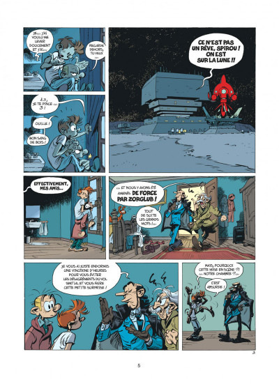 Page 5 Spirou et Fantasio tome 52 - la face cachée du Z