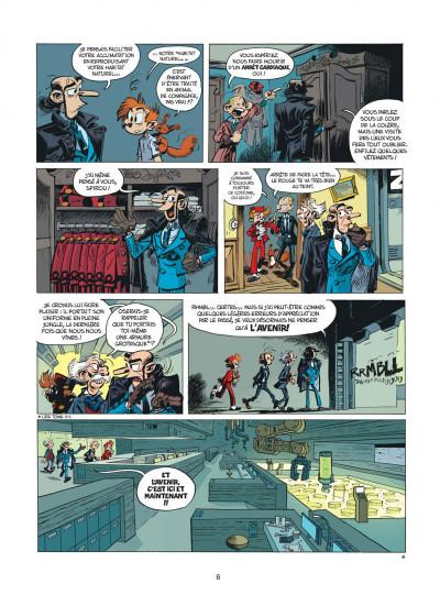 Page 6 Spirou et Fantasio tome 52 - la face cachée du Z