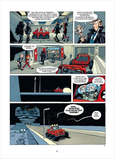 Page 8 Spirou et Fantasio tome 52 - la face cachée du Z