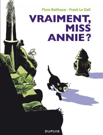 Couverture miss Annie tome 2 - vraiment, miss Annie ?