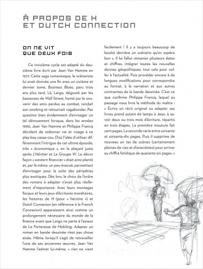 Page 4 Largo Winch - intégrale magnum tome 2