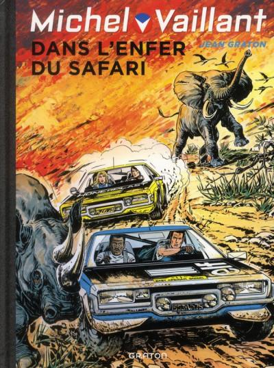 Couverture Michel Vaillant tome 27 - dans l'enfer du safari