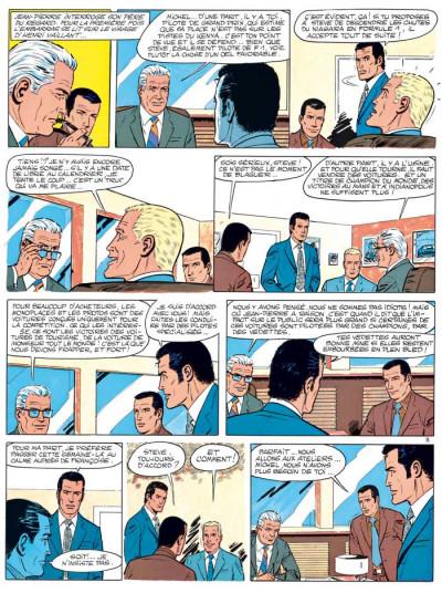 Page 2 Michel Vaillant tome 27 - dans l'enfer du safari