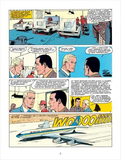 Page 5 Michel Vaillant tome 27 - dans l'enfer du safari