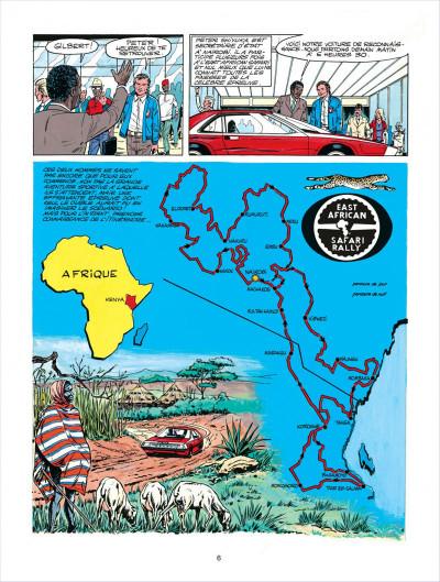 Page 6 Michel Vaillant tome 27 - dans l'enfer du safari