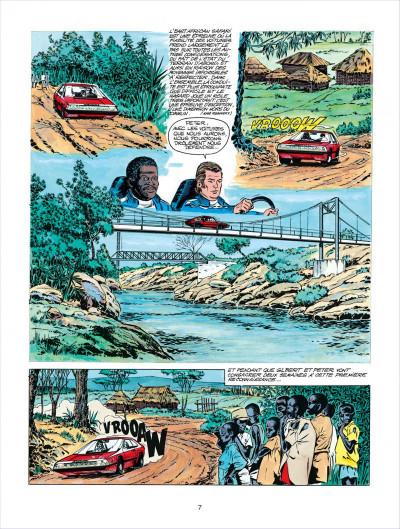 Page 7 Michel Vaillant tome 27 - dans l'enfer du safari