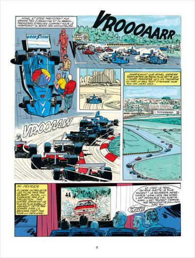 Page 8 Michel Vaillant tome 27 - dans l'enfer du safari