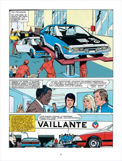 Page 9 Michel Vaillant tome 27 - dans l'enfer du safari