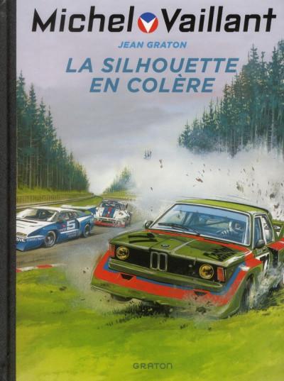 Couverture Michel Vaillant tome 33 - la silhouette en colère