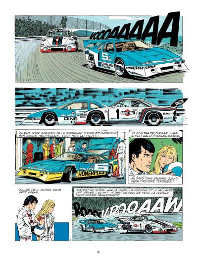 Page 4 Michel Vaillant tome 33 - la silhouette en colère