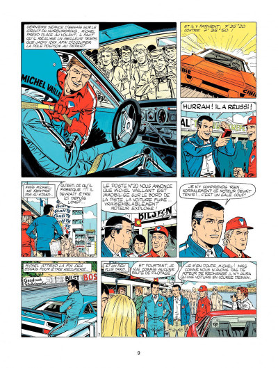 Page 7 Michel Vaillant tome 33 - la silhouette en colère
