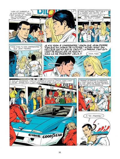 Page 8 Michel Vaillant tome 33 - la silhouette en colère