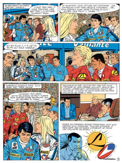 Page 3 Michel Vaillant tome 55 - une histoire de fous