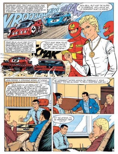 Page 4 Michel Vaillant tome 55 - une histoire de fous