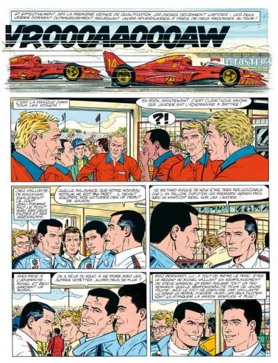 Page 4 Michel Vaillant tome 56 - le maître du monde