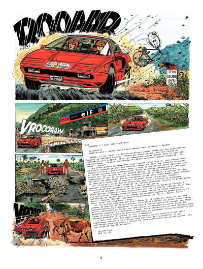 Page 2 Michel Vaillant tome 57 - la piste de jade