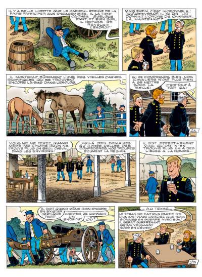 Page 2 les tuniques bleues tome 55 - indien, mon frère